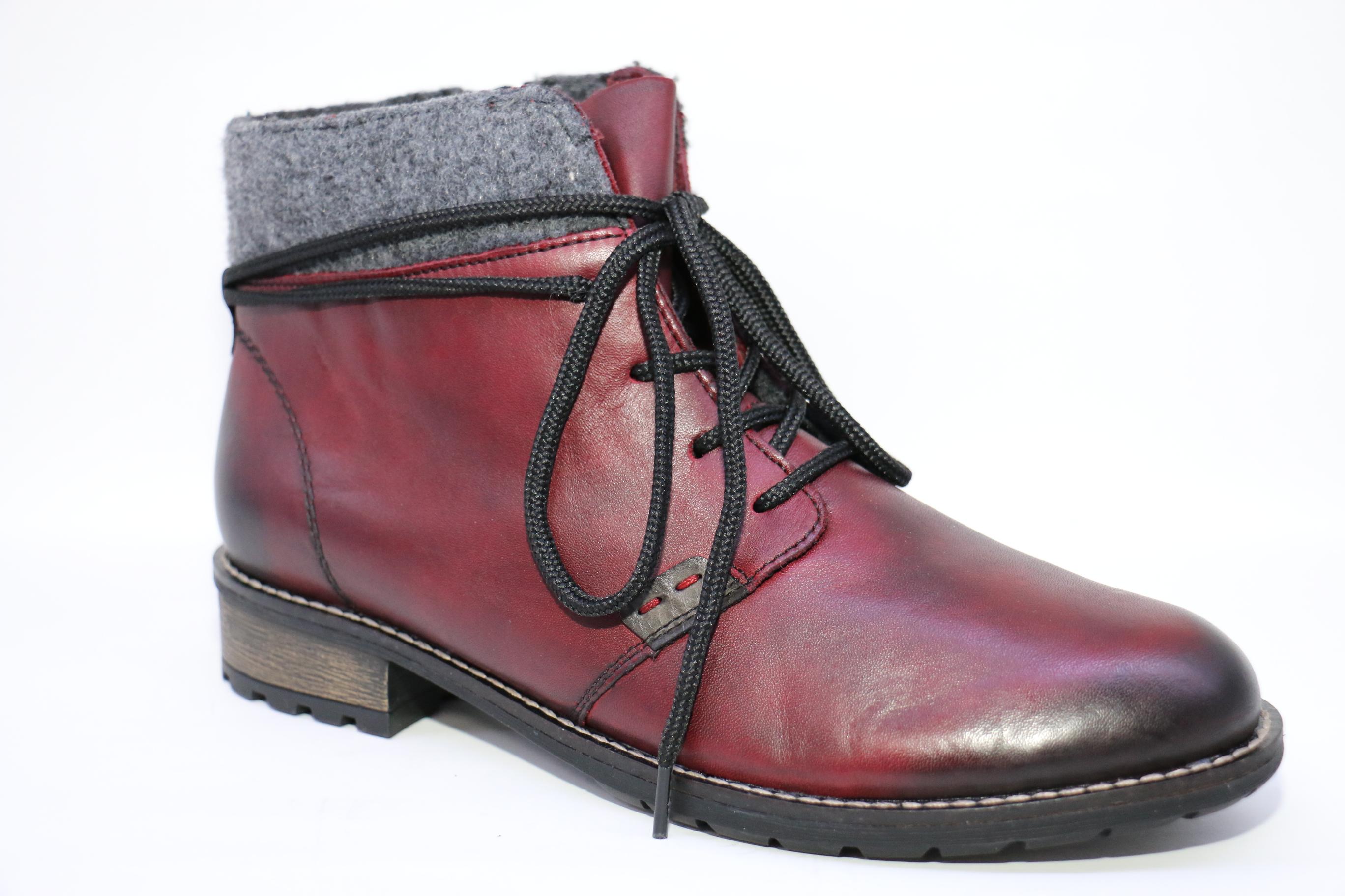 91067f66b Ботинки женские Rieker 3332-35 | Обувь из Германии.Немецкая обувь ...