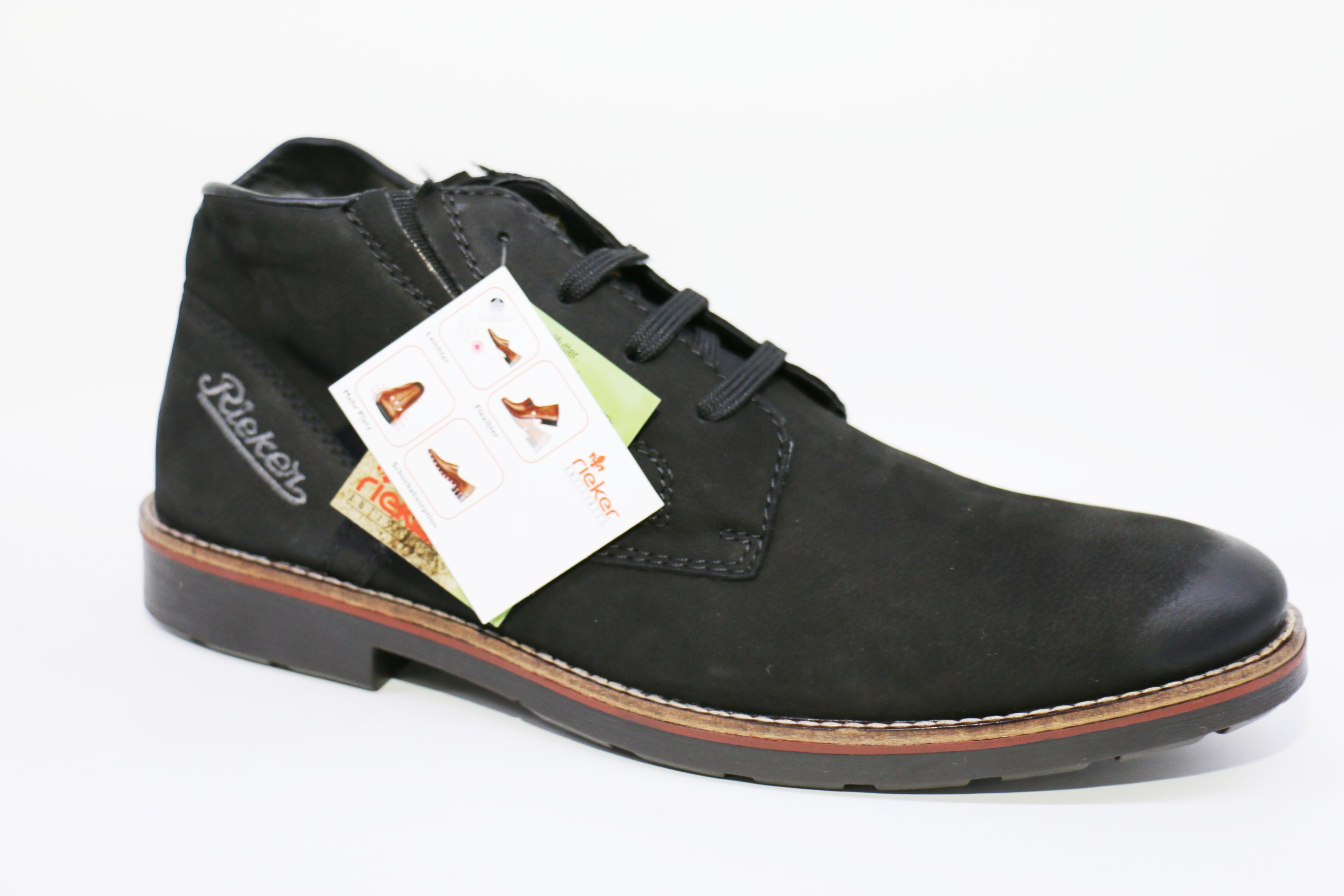 d553abca мужские зимние ботинки Rieker 35321-00 | Обувь из Германии.Немецкая ...